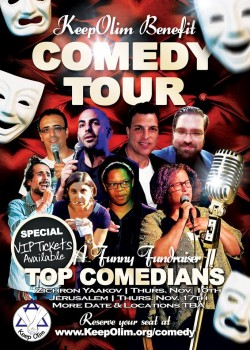 keepolim comedy tour flyer