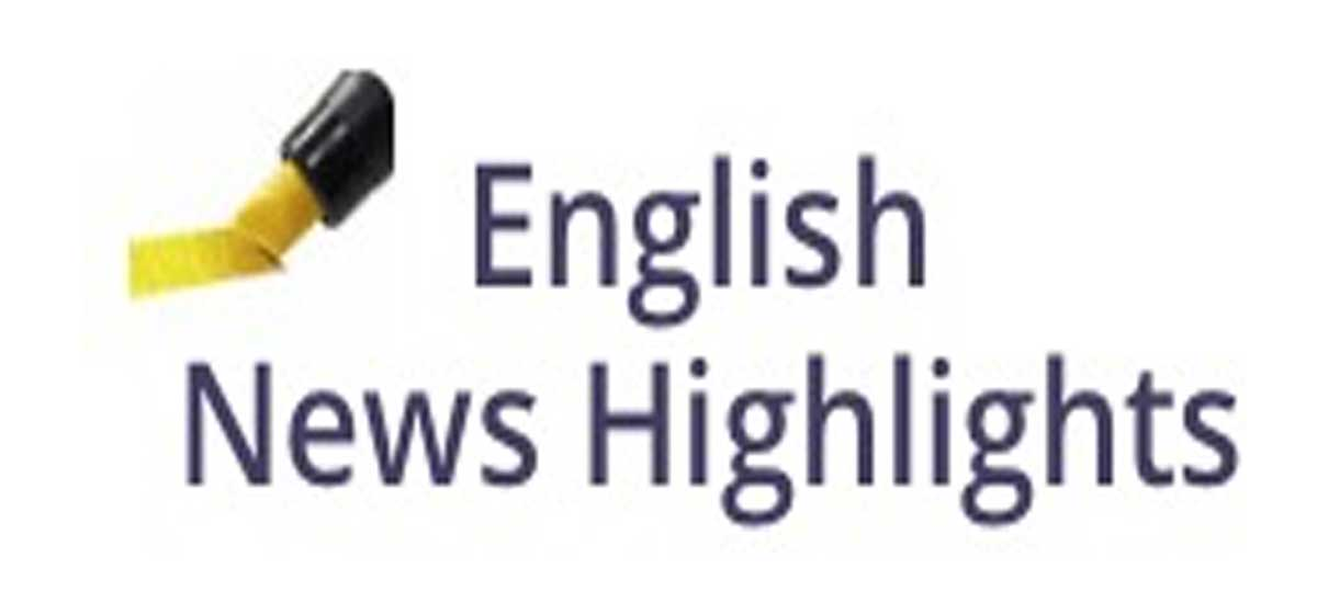 English News Highlights