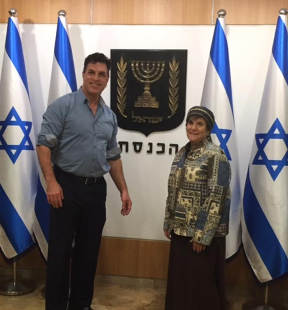 At the Knesset 2