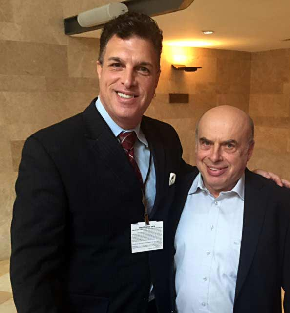 With former refusenik, former MK and Chairman of the Jewish Agency Natan Sharansky