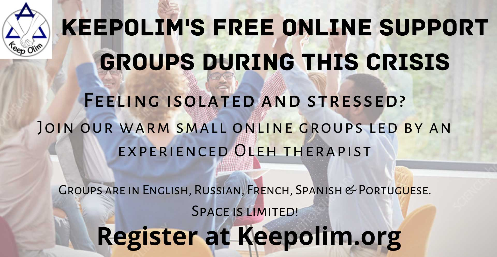 KeepOlim in Israel - support groups